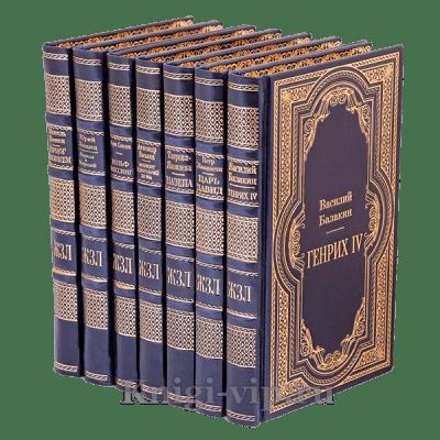 """Библиотека из серии """"Жизнь замечательных людей"""". Писатели и поэты (комплект из 50 книг)"""