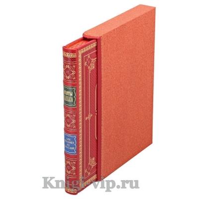 Охоты Кавказа. Калиновский А.А. Книга в кожаном переплёте