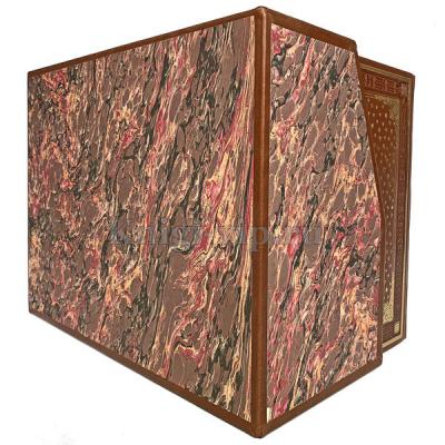 Гарри Поттер (7 книг) в кожаном переплёте и подарочном коробе. Джоан Роулинг