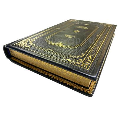 Библиотека приключений в 58 томах. Подарочные книги в кожаном переплёте
