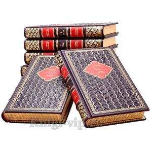 Оноре де Бальзак. Собрание сочинений в 8 томах. Книги в кожаном переплёте.