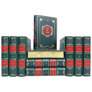 Майн Рид. Собрание сочинений в 10 томах. Книги в кожаном переплёте.
