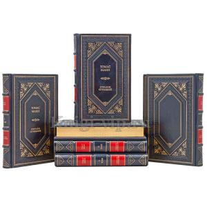 Томас Манн. Собрание сочинений в 8 томах. Книги в кожаном переплёте.