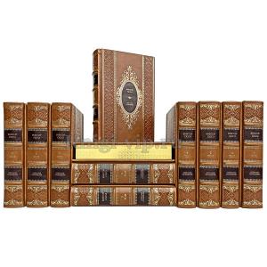 Виктор Гюго - Собрание сочинений 11 томов. Книги в кожаном переплёте
