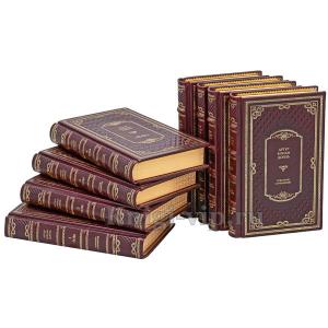 Артур Конан Дойль. Собрание сочинений в 8 томах. Кожаный переплет