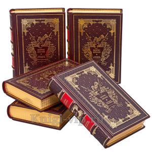 Морис Дрюон. Собрание сочинений в 7 томах. Книги в кожаном переплете
