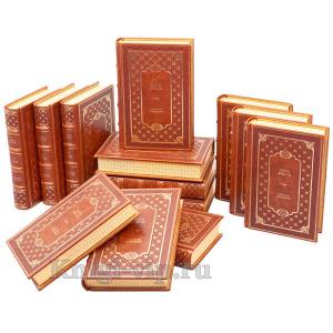 Агата Кристи. Собрание сочинений в 13 томах. Книги в кожаном переплёте.