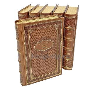 Генри Миллер. Собрание сочинений в 6 томах. Книги в кожаном переплёте.