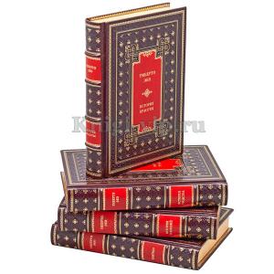 Умберто Эко. Собрание из 4 книг в кожаном переплёте.