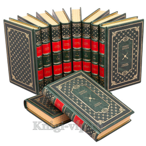 Генри Райдер Хаггард. Собрание сочинений в 10 томах. Книги в кожаном переплёте.