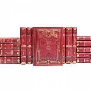 Русский биографический словарь в 25 томах + 7 дополнительных (32 книги). Книги в кожаном переплёте