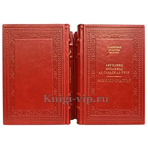 Памятники культуры востока в 19 томах. Книги в кожаном переплёте