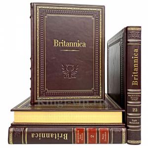 Энциклопедия Британника в 32 томах в кожаном переплете. The New Encyclopaedia Britannica. 15th Edition. In 32 volumes
