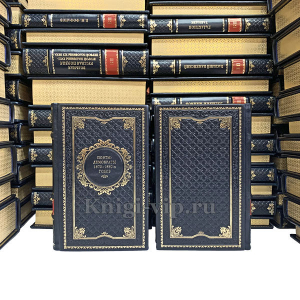 Библиотека поэта в 190 томах. Книги в кожаном переплёте