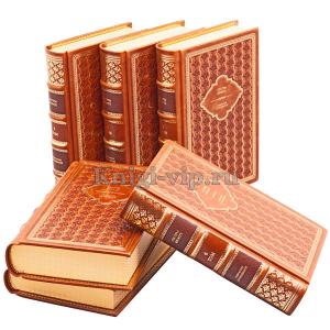 Сестры Бронте. Собрание сочинений в 6 томах. Книги в кожаном переплёте.