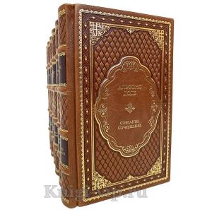 Альфонс Доде. Собрание сочинений в 7 томах. Книги в кожаном переплёте