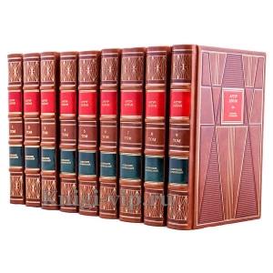 Артур Хейли. Собрание сочинений в 9 томах. Книги в кожаном переплёте