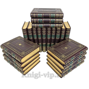 Древние цивилизации (в 25 томах). Книги в кожаном переплёте
