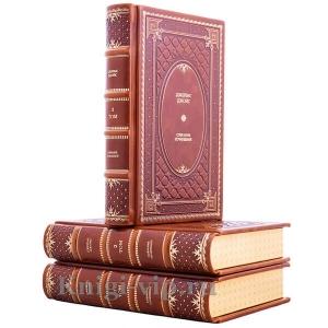 Джеймс Джойс. Собрание сочинений в 3 томах. Книги в кожаном переплёте