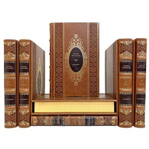 Иосиф Бродский. Собрание сочинений в 7 томах. Книги в кожаном переплёте.