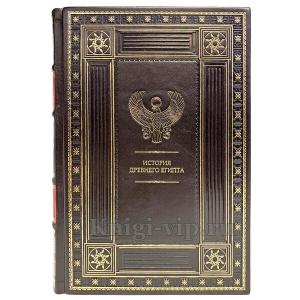 История древнего Египта в 2 томах. Подарочные книги в кожаном переплёте