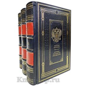 Карамзин Николай Михайлович. Полное собрание сочинений в 18 томах. Книги в кожаном переплёте
