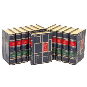 Братья Стругацкие. Собрание сочинений в 12 томах. Книги в кожаном переплёте.