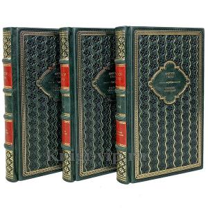 Виктор Гюго. Собрание сочинений в 15 томах в кожаном переплёте